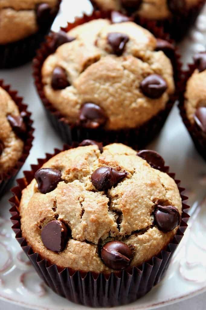 blender muffins 3 682x1024 Peanut Butter Banana Blender Bread Recipe