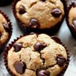blender muffins a 150x150 Flourless Peanut Butter Blender Muffins Recipe