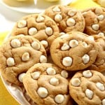 lemon cookies 5 150x150 Lemon White Chocolate Chip Cookies Recipe