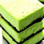 mint cheesecake bars a 150x150 Mint Cheesecake Bars Recipe