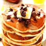 pancakes 4 150x150 Fluffy Chocolate Chip Pancakes Recipe