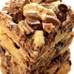 reeses chocolate peanut butter bars a 150x150 Peanut Butter Chocolate Reeses Bars Recipe