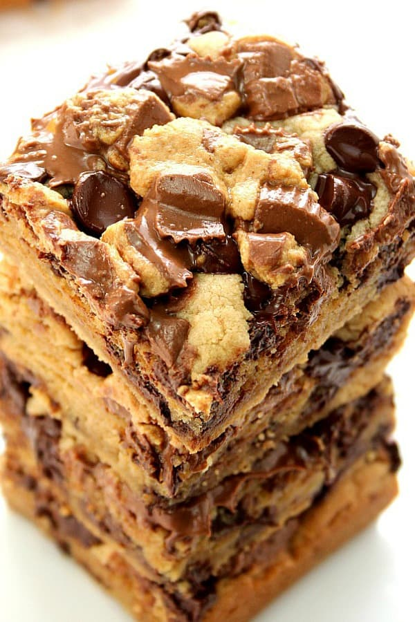 reeses chocolate peanut butter bars a Peanut Butter Chocolate Reeses Bars Recipe