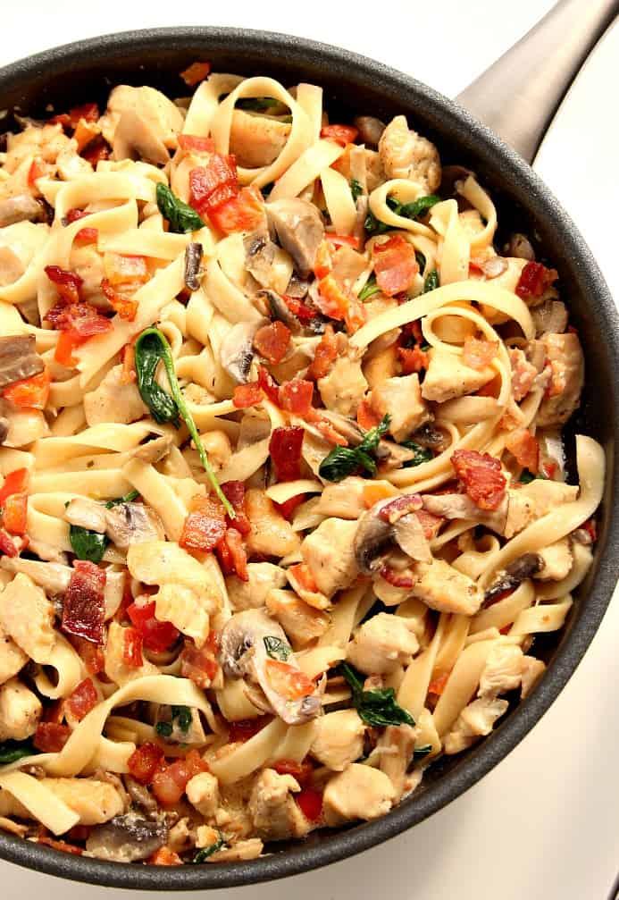 kitchen fair 3 Creamy Mushroom Chicken Pasta Recipe