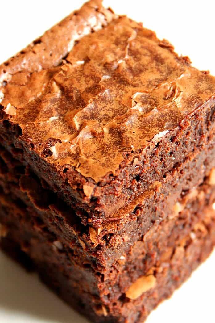 one bowl brownies 2 One Bowl Brownies Recipe