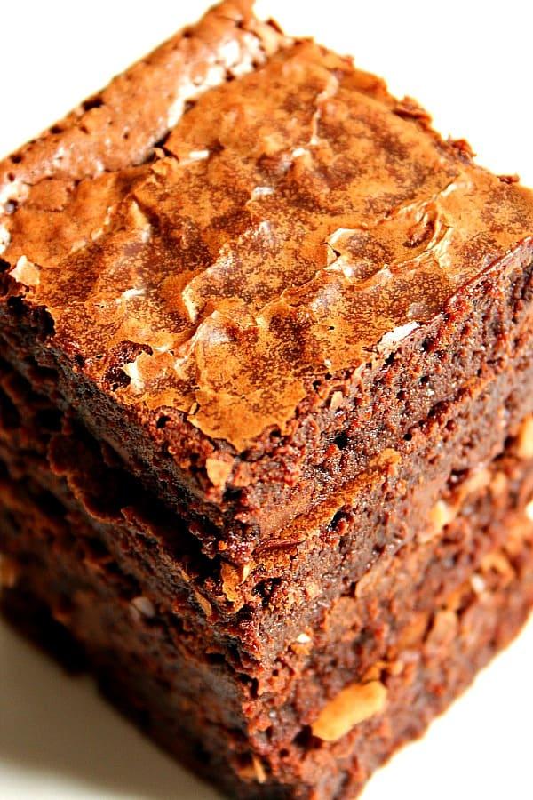 one bowl brownies C One Bowl Brownies