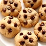 pb choc cookies 3 150x150 Peanut Butter Chocolate Chip Cookies Recipe