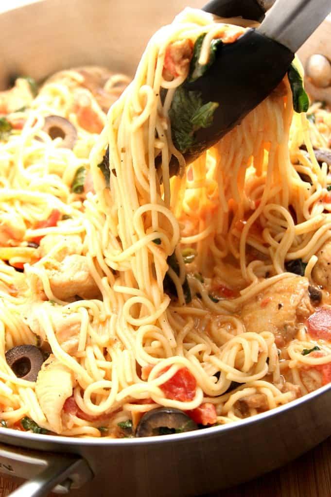 tuscan pasta 3 Creamy Italian Chicken Pasta