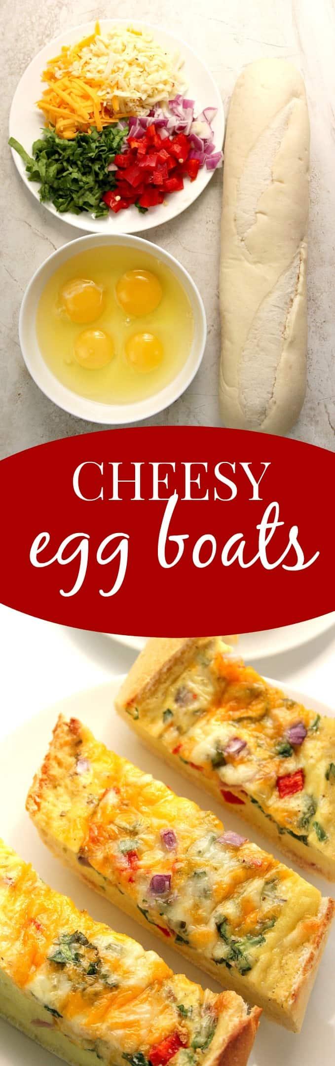 cheesy egg boats long Cheesy Egg Boats Recipe