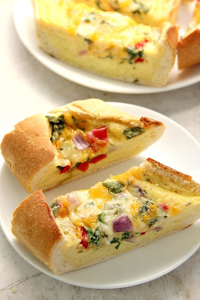 egg boats 2 Cheesy Egg Boats Recipe