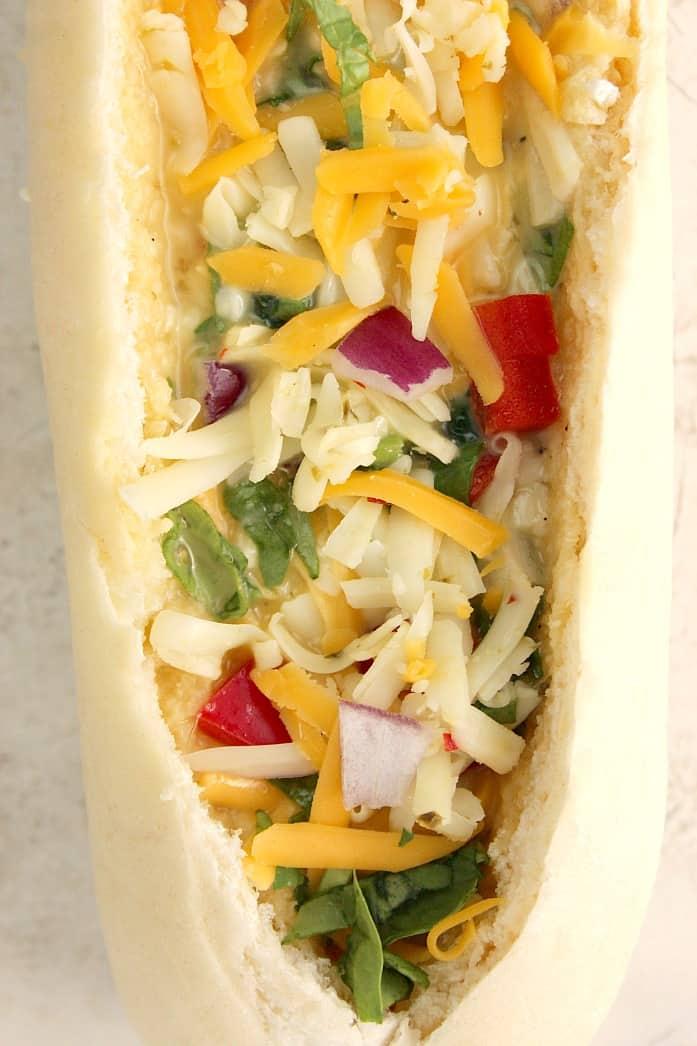 egg boats 5 Cheesy Egg Boats Recipe