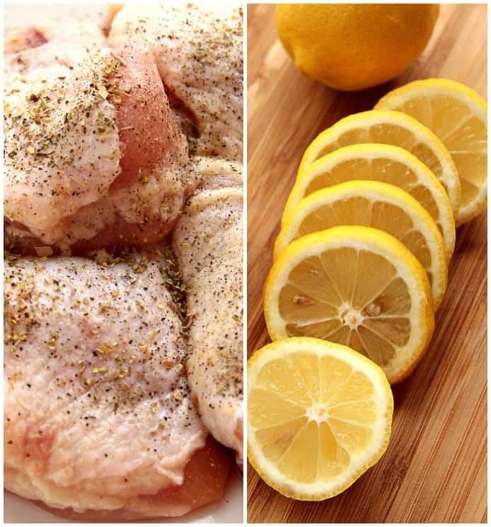 lemon chicken 7 Lemon Garlic Roasted Chicken Recipe