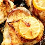lemon garlic chicken A 150x150 Lemon Garlic Roasted Chicken Thighs