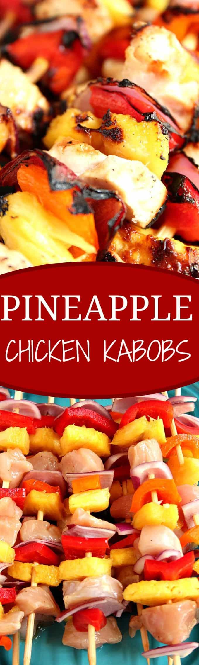 Pineapple Chicken Kabobs RecipeCrunchy Creamy Sweet