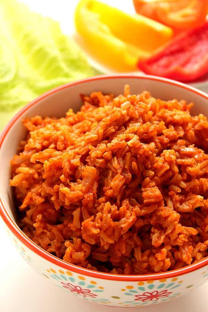 spanish rice 1 Cheesy Salsa Rice with Zucchini and Corn Recipe