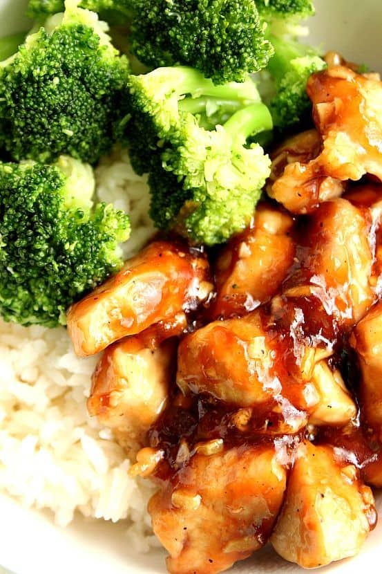 20 minute teriyaki chicken 3 1 Quick Teriyaki Chicken Rice Bowls Recipe