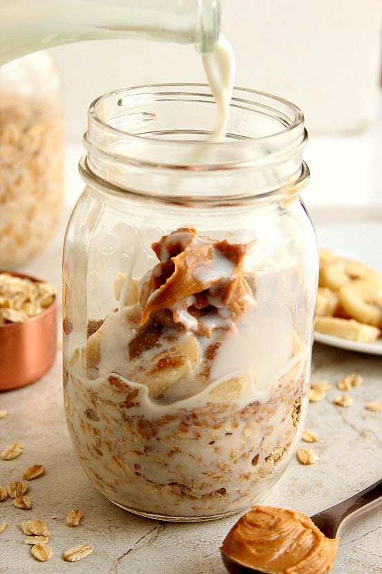 overnight oats 1 Easy Baked Oatmeal Cups Recipe
