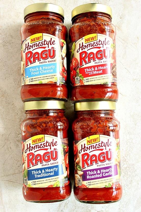 ragu homestyle 2 Spinach and Ricotta Stuffed Pasta Shells Recipe