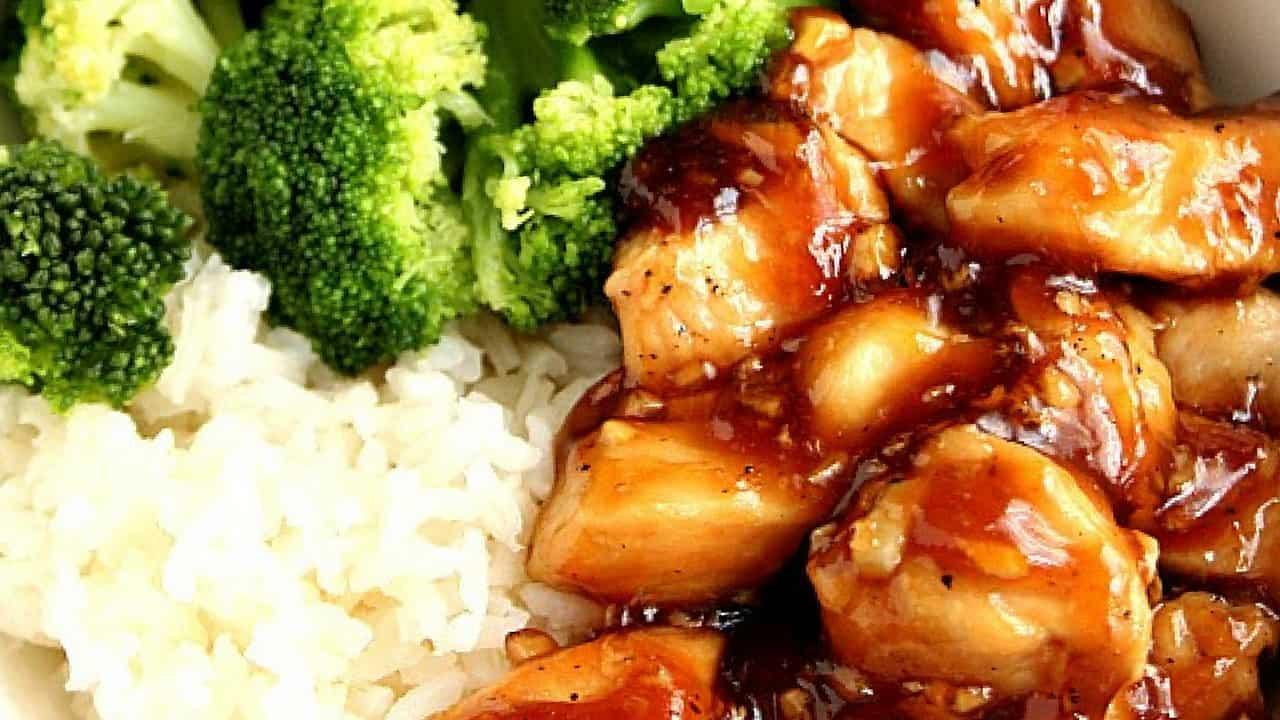 terichick 1 Quick Teriyaki Chicken Rice Bowls Recipe Card