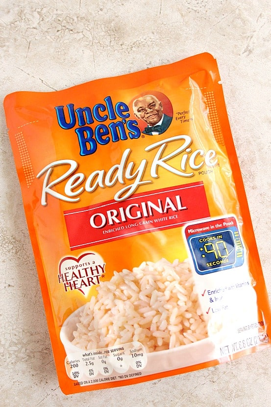 uncle bens rice Stuffed Pepper Rice Skillet Recipe