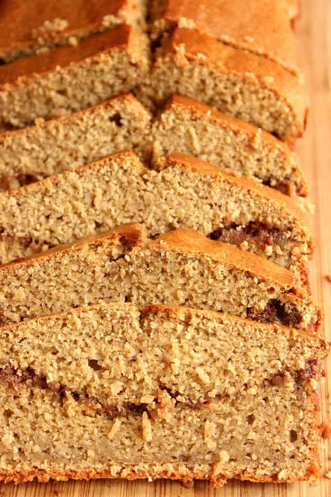 blender bread 1 682x1024 Peanut Butter Banana Blender Bread Recipe