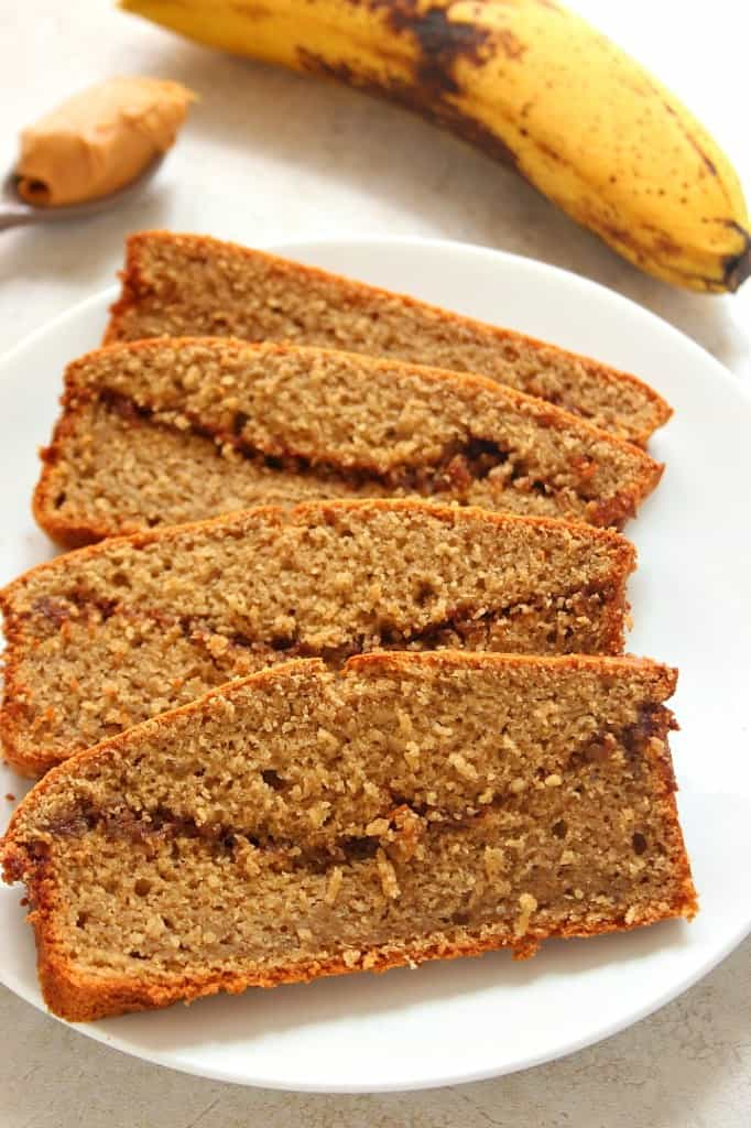 blender bread 2 682x1024 Peanut Butter Banana Blender Bread Recipe