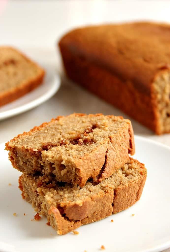 blender bread A 691x1024 Peanut Butter Banana Blender Bread Recipe