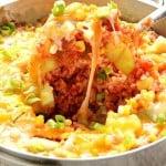 cheesy rice 1a 150x150 Cheesy Salsa Rice with Zucchini and Corn Recipe