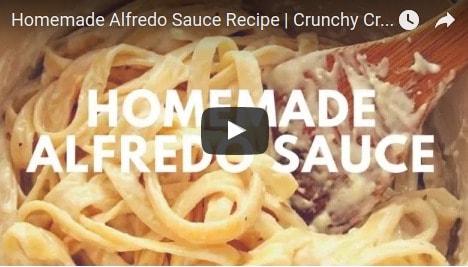 youtube alfredo thumb Homemade Alfredo Sauce Recipe
