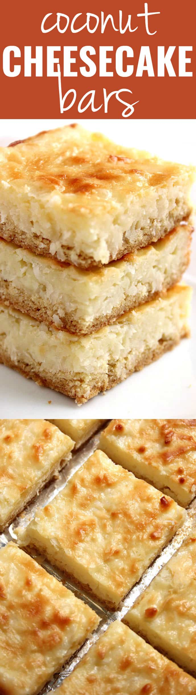 coconut cheesecake bars A Coconut Cheesecake Bars Recipe