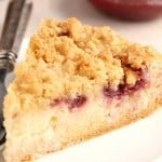 crumb pie 3 150x150 Raspberry Coconut Sour Cream Crumb Pie Recipe