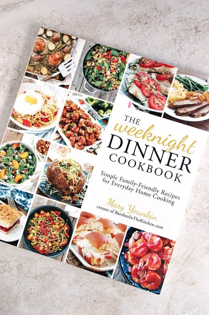 weeknight dinner cookbook 1 682x1024 Crunchy Honey Lime Chicken Recipe