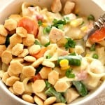 chicken-pot-pie-skillet-pasta-3