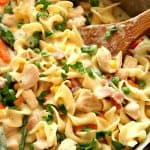 chicken pot pie skillet pasta a 150x150 Chicken Pot Pie Skillet Pasta Recipe