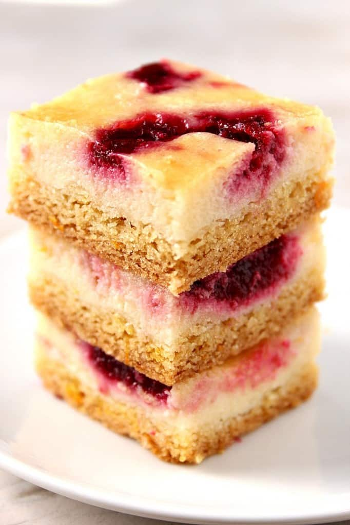 cranberry swirl orange sour cream bars 1 682x1024 Cranberry Orange Sour Cream Bars Recipe