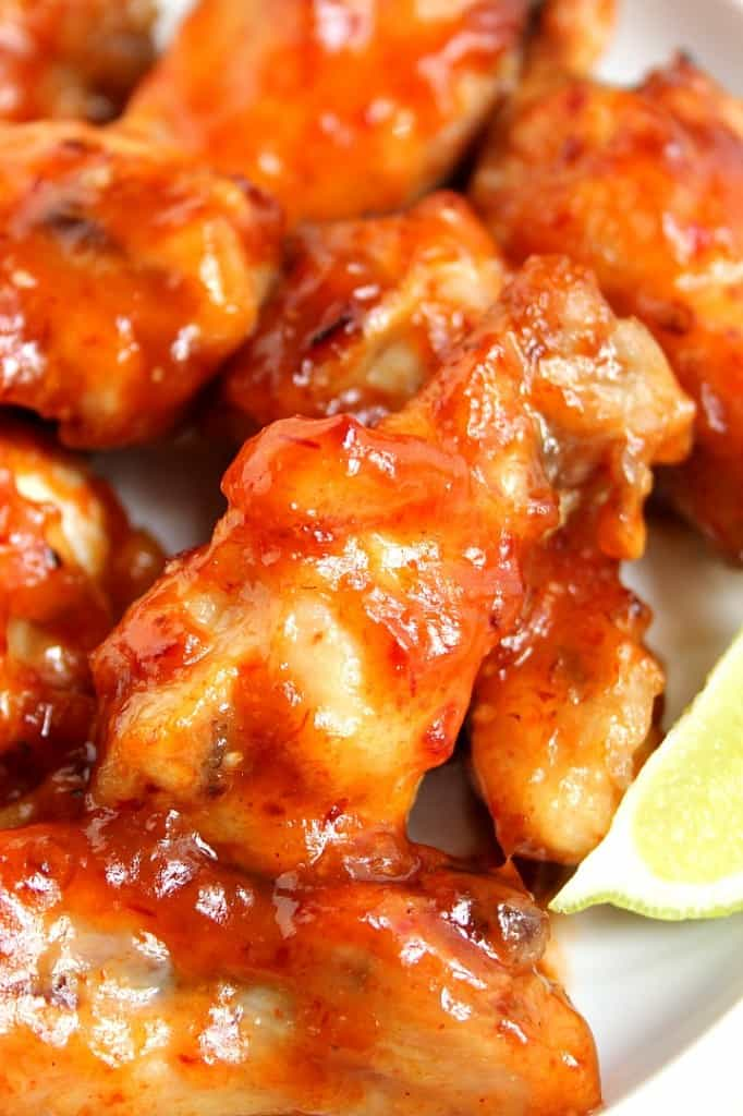 crockpot chicken wings 9 682x1024 Sweet and Spicy Crock Pot® Chicken Wings Recipe