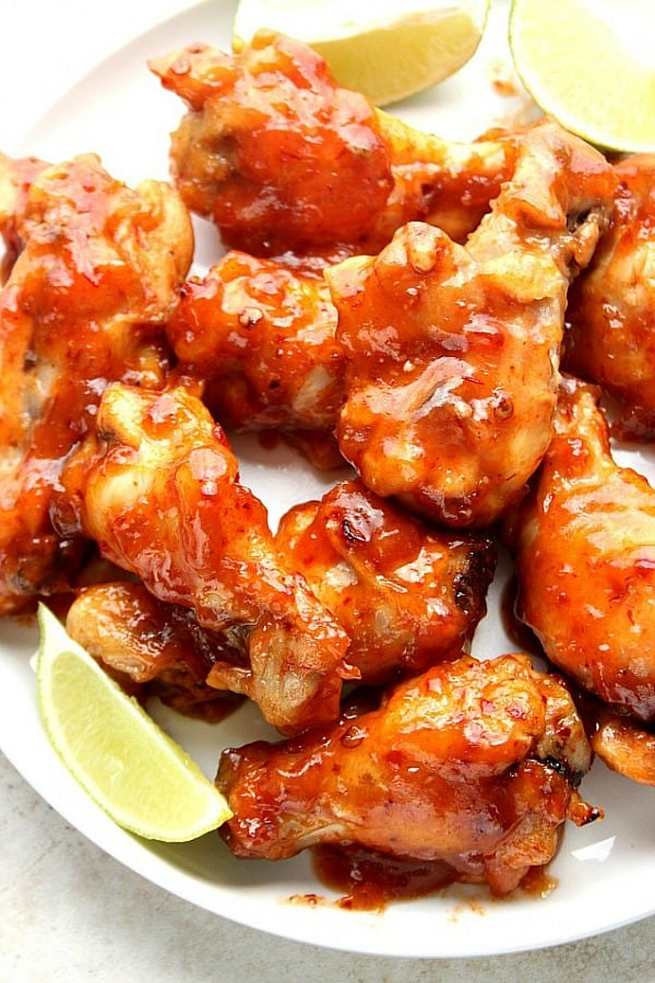 crockpot chicken wings a Sweet and Spicy Crock Pot® Chicken Wings Recipe