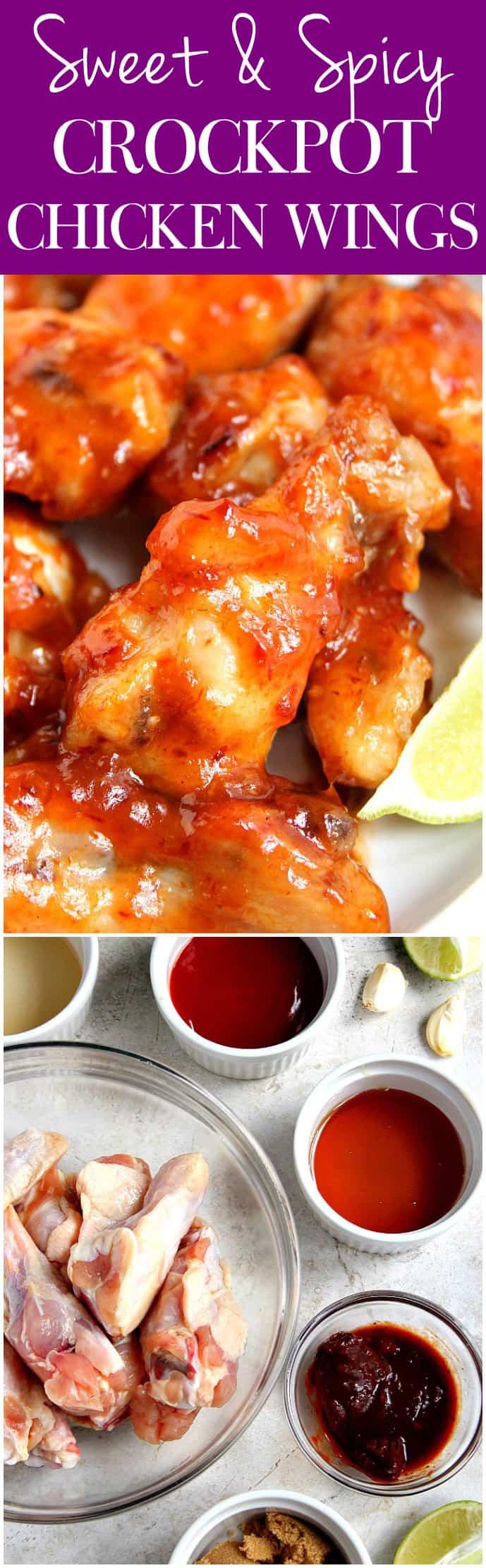 crockpot chicken wings longA Sweet and Spicy Crock Pot® Chicken Wings Recipe