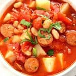 italian sausage potato soup a 150x150 Italian Soup with Sausage and Potatoes Recipe
