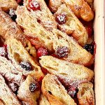 cranberry orange croissant bake a 150x150 Orange Cranberry Croissant Bake Recipe