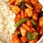 honey chipotle chicken a 150x150 Quick Honey Chipotle Chicken Rice Bowls Recipe