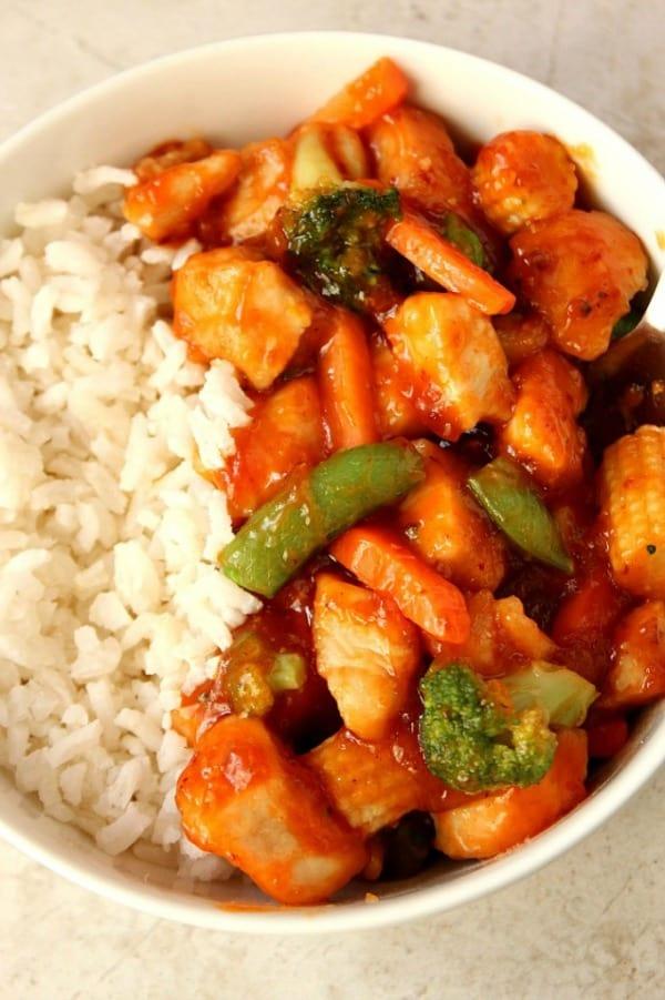honey chipotle chicken a Quick Honey Chipotle Chicken Rice Bowls Recipe