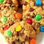 m m chocolate chip oatmeal cookies 1 150x150 Oatmeal Chocolate Chip M&M Cookies Recipe