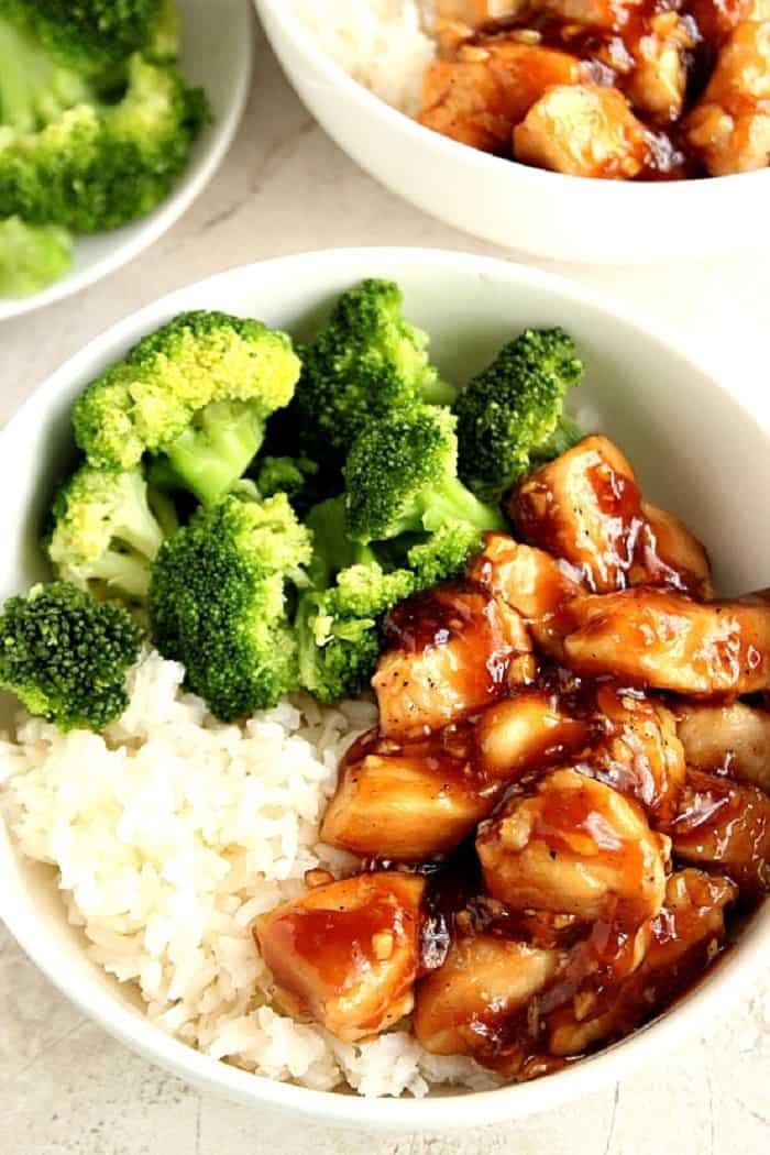20 minute teriyaki chicken 2 11 Quick Mongolian Beef Rice Bowls Recipe