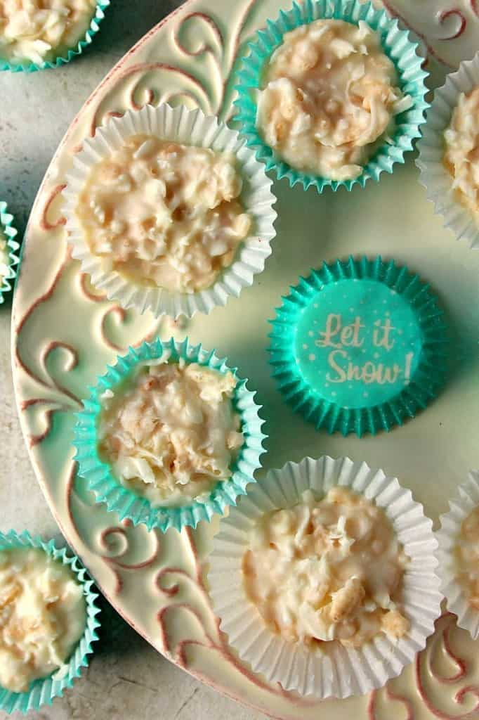 coconut crunch chocolate cups 1 682x1024 Coconut Crunch Chocolate Cups Recipe
