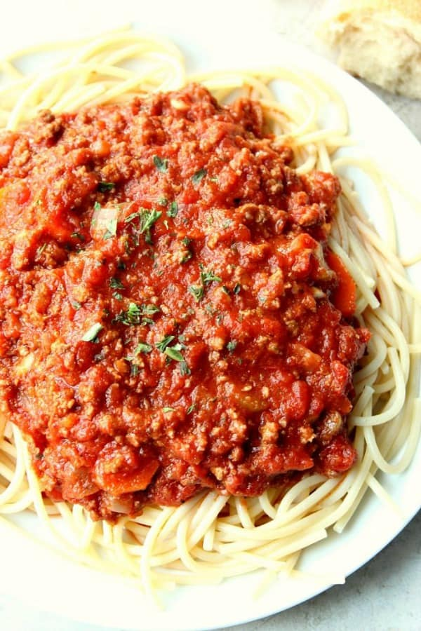 Slow Cooker Bolognese Sauce A Slow Cooker Bolognese Sauce
