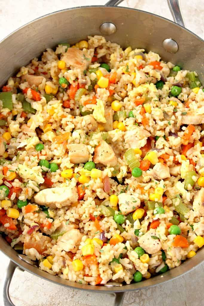 chicken fried rice 5 683x1024 Chicken Fried Rice Recipe