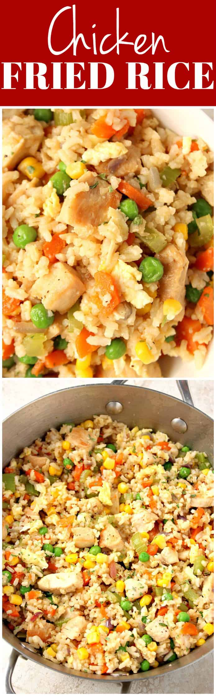 chicken fried rice recipe long1 Chicken Fried Rice Recipe