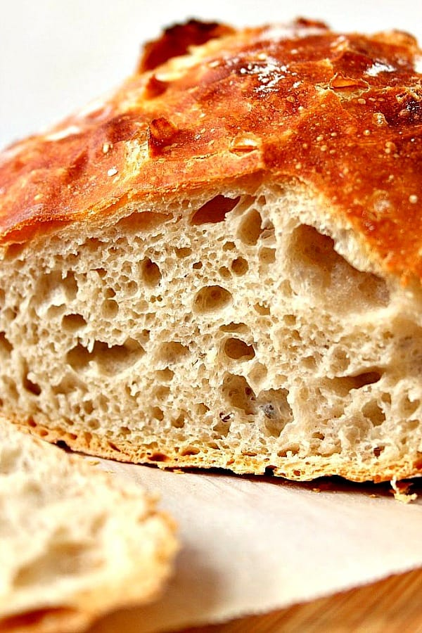 no knead bread B No Knead Bread