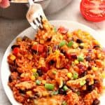 Mexican chicken and rice B 150x150 Mexican Chicken and Rice Skillet Recipe